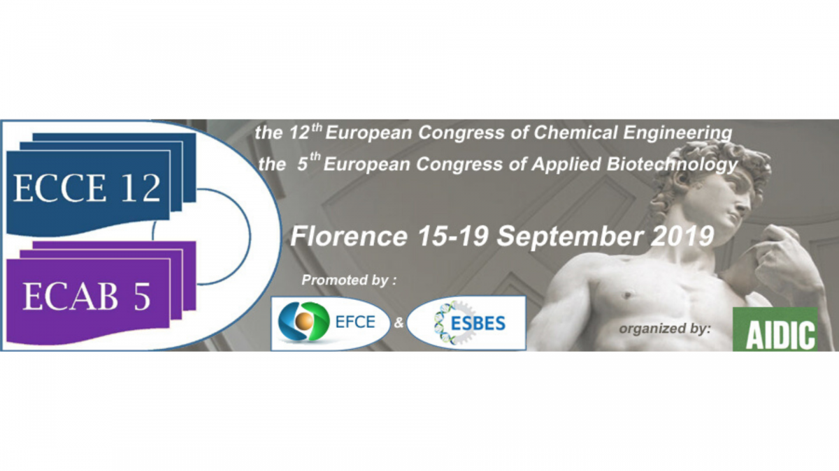 ECCE 12 European Congress of Chemical Engineering
