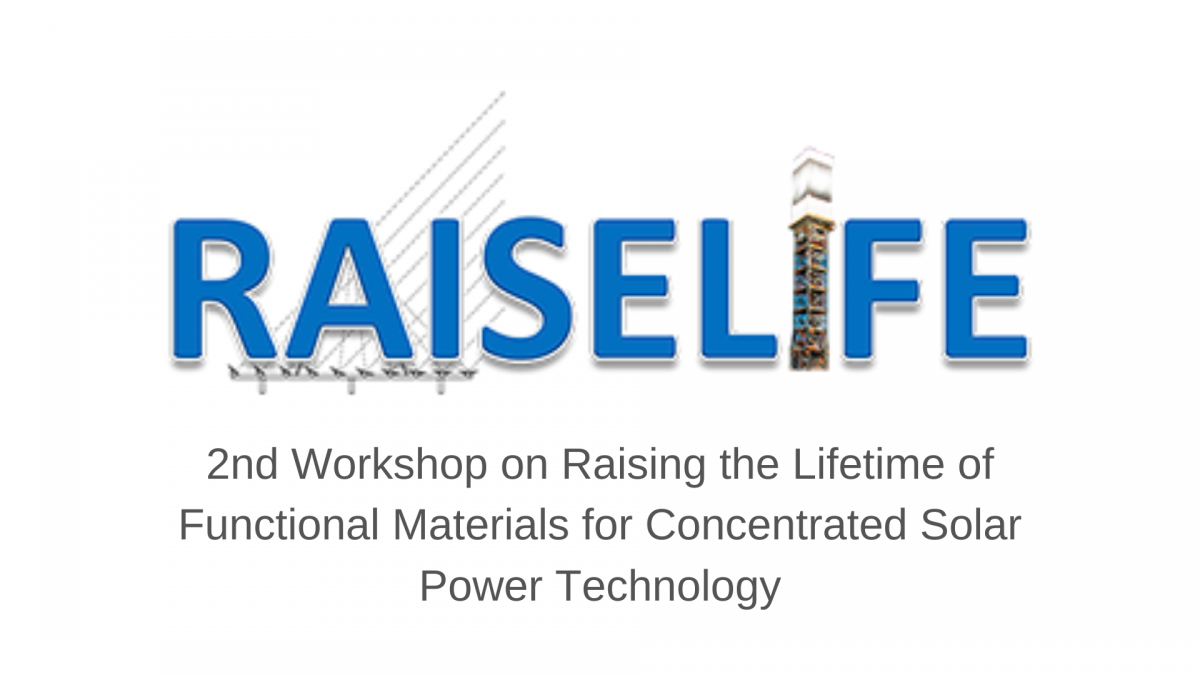 RAISELIFE workshopn on Concentrated Solar Power Technology