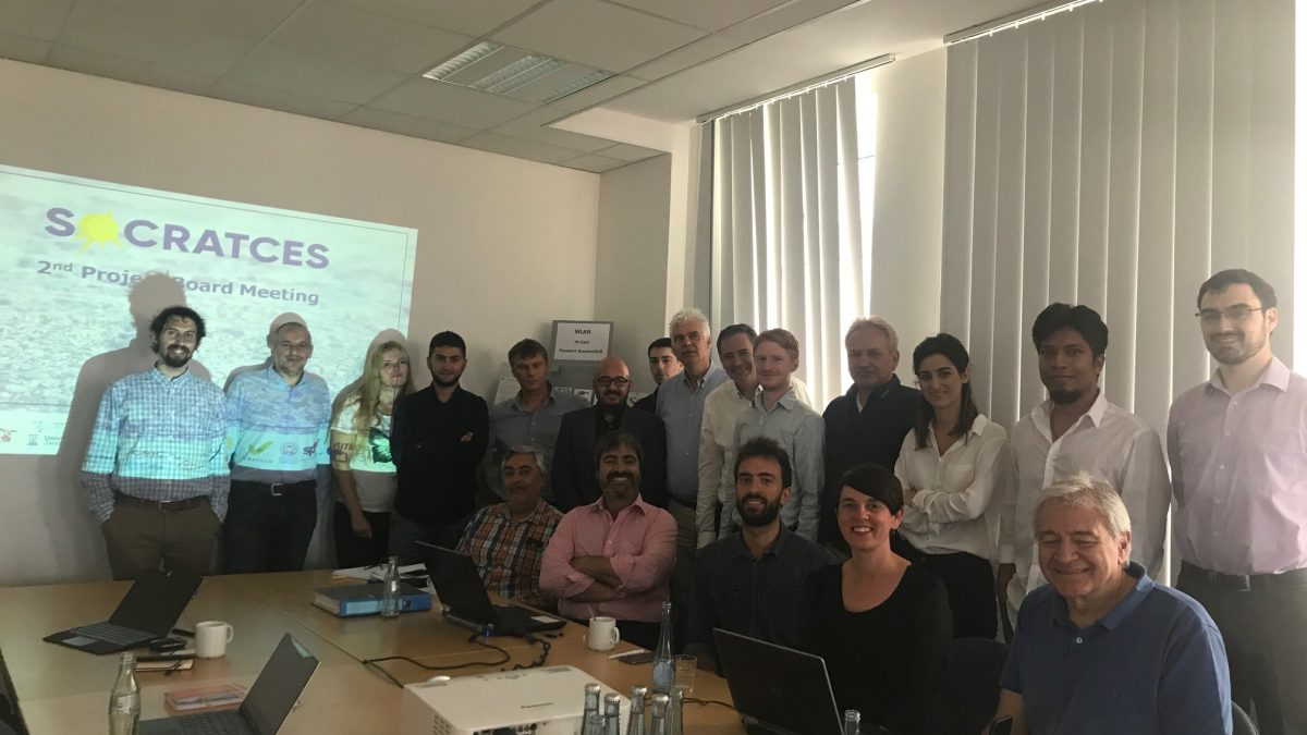 SOCRATCES most results in 2nd project board meeting